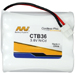 MI Battery Experts CTB36-BP1