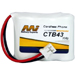 MI Battery Experts CTB43-BP1