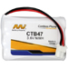MI Battery Experts CTB47-BP1