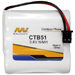 MI Battery Experts CTB51-BP1