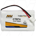 MI Battery Experts CTB74-BP1