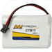 MI Battery Experts CTB77-BP1