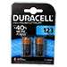 Duracell DL123AB2