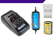 Battery Chargers / Analysers / Testers