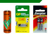Car Alarm & Vehicle Security Batteries