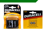 Duracell Alkaline Specialised Batteries
