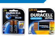Duracell Camera Batteries