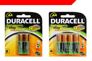 Duracell NiMH Batteries