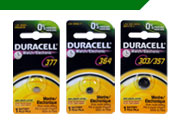 Duracell Watch Batteries