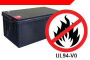 VRLA with Flame Retardant Case