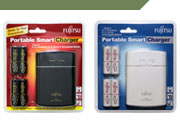 Fujitsu Nickel Metal Hydride Consumer Batteries and Chargers