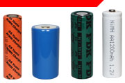 NiMH Cylindrical Batteries