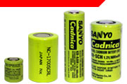 Sanyo Industrial Nickel Cadmium Batteries