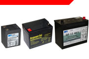 Sealed Lead Acid Gel Batteries