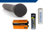 Wireless Microphone Batteries
